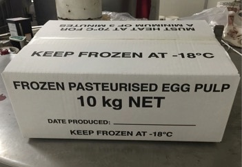 Wagner's Pasteurised Egg Pulp